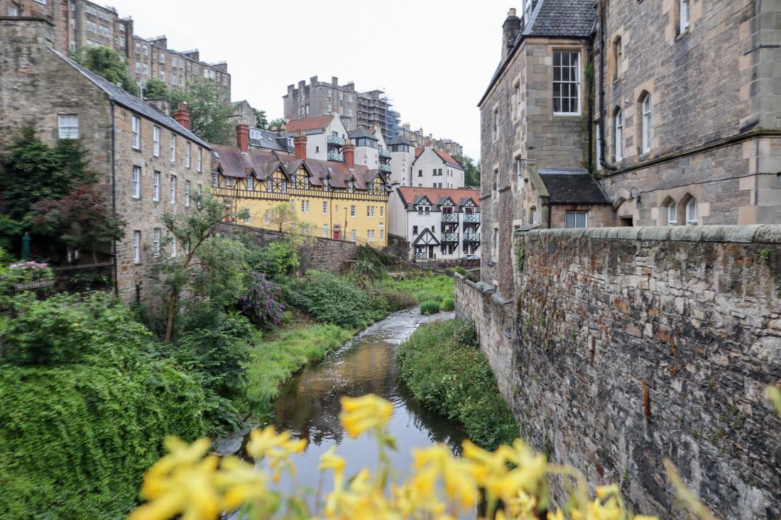 Dean Village Edinburghs Historic House Flowers