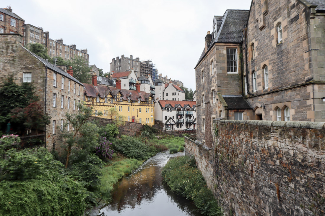 Dean Village Edinburghs Historic Houses_