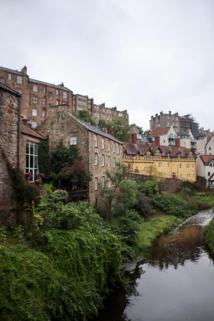 Dean Village Historic House Water Edinburgh