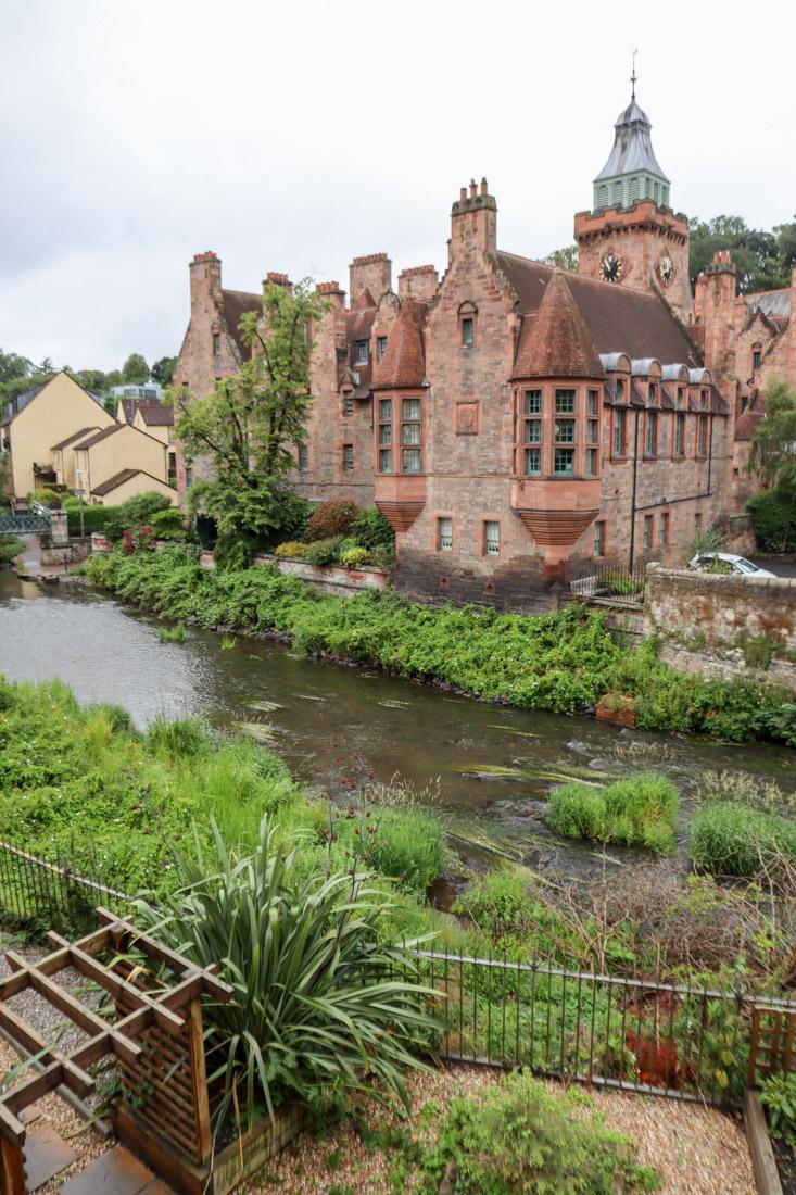 Dean Village Landscape Plants Edinburgh