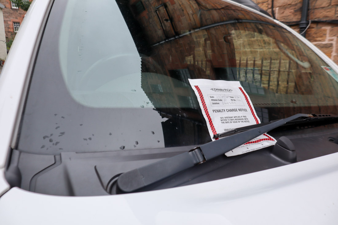 Dean Village Parking Fine Driving Car