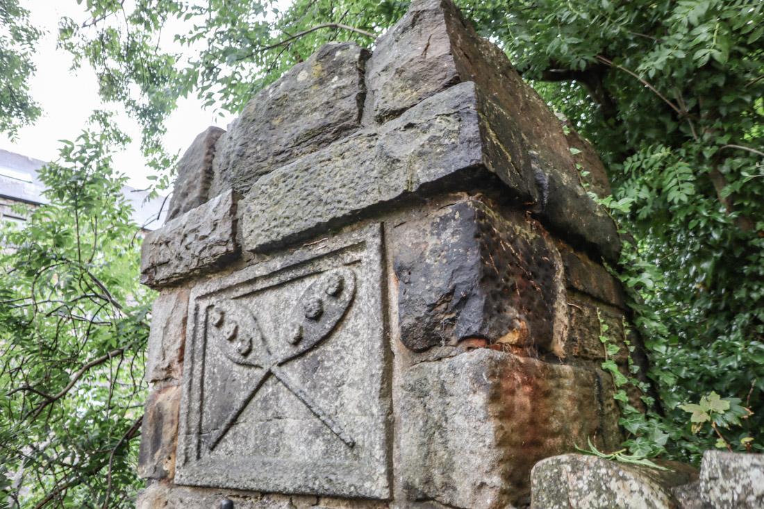 Dean Village Wall Carving Bread Edinburgh