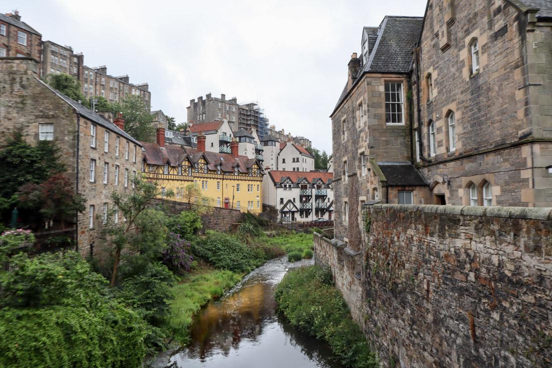 Dean Village in Edinburgh Historic Houses_