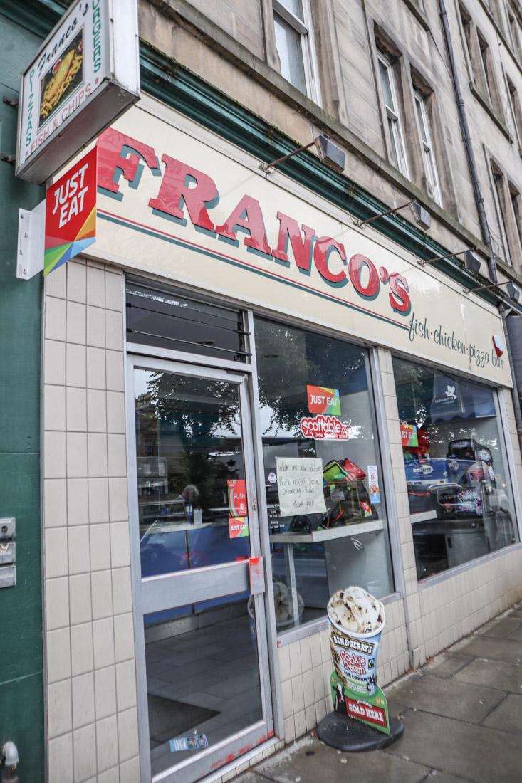 Francos Chip Shop Stockbridge Food_