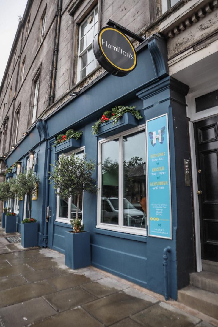 Hamiltons Pub Food Stockbridge Edinburgh_