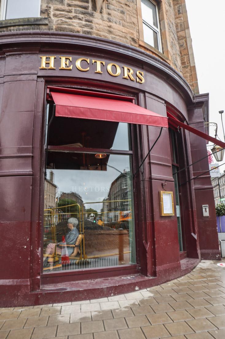 Hectors Pub Stockbridge Food_