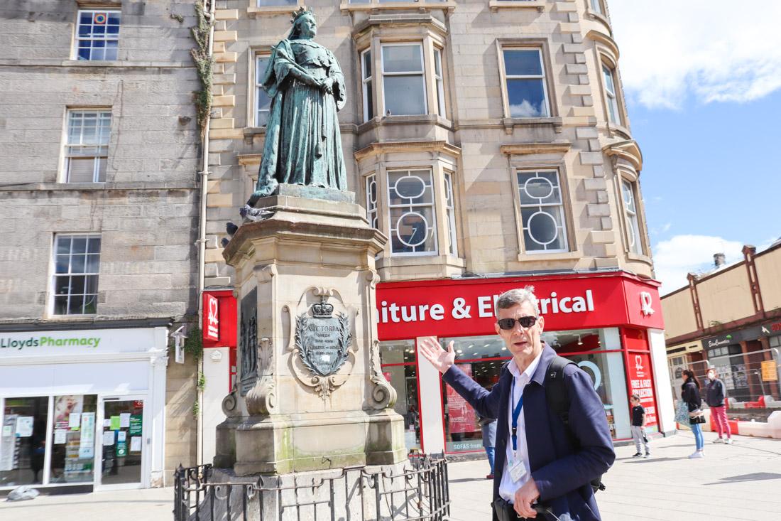 Invisible Cities Trainspotting Tour Leith Edinburgh_