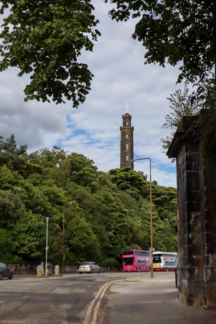 Nelson Monument Calton Hill Edinburgh_