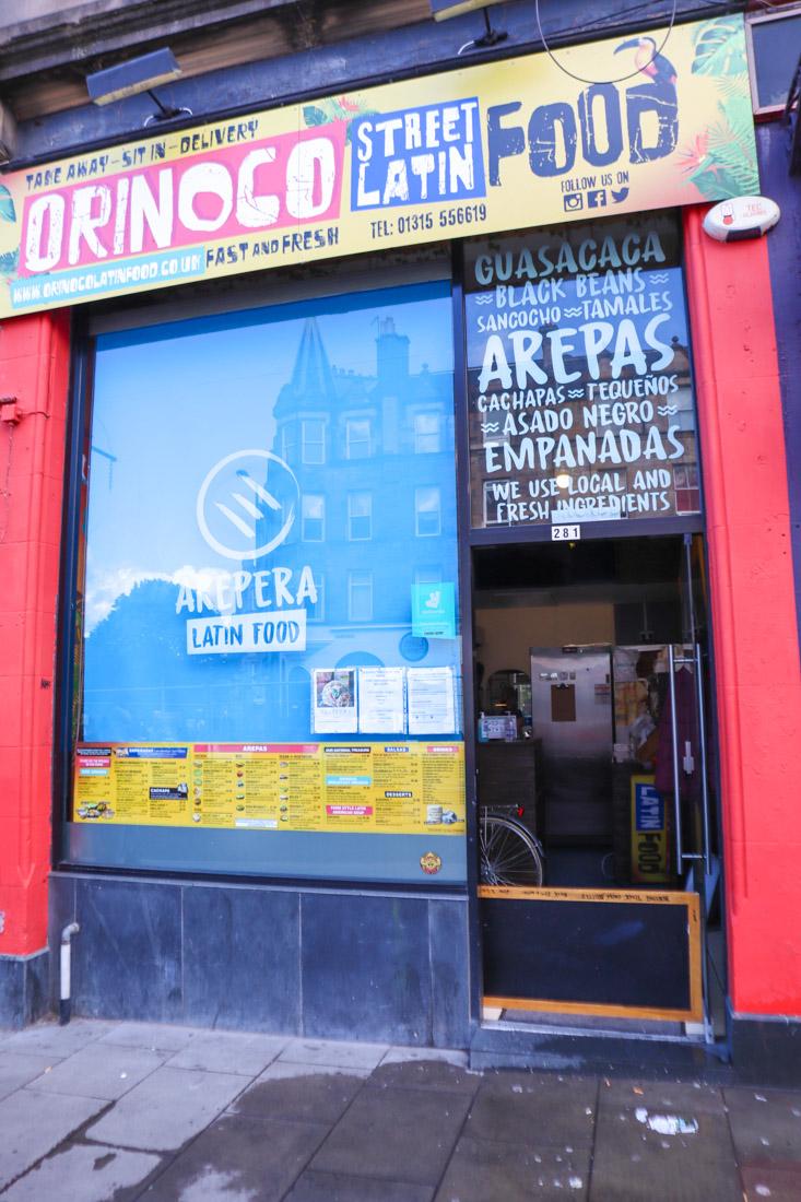 Orinoco Food Leith Edinburgh_