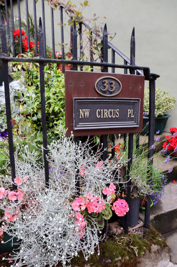 Potted Garden Stockbridge Edinburgh Scotland