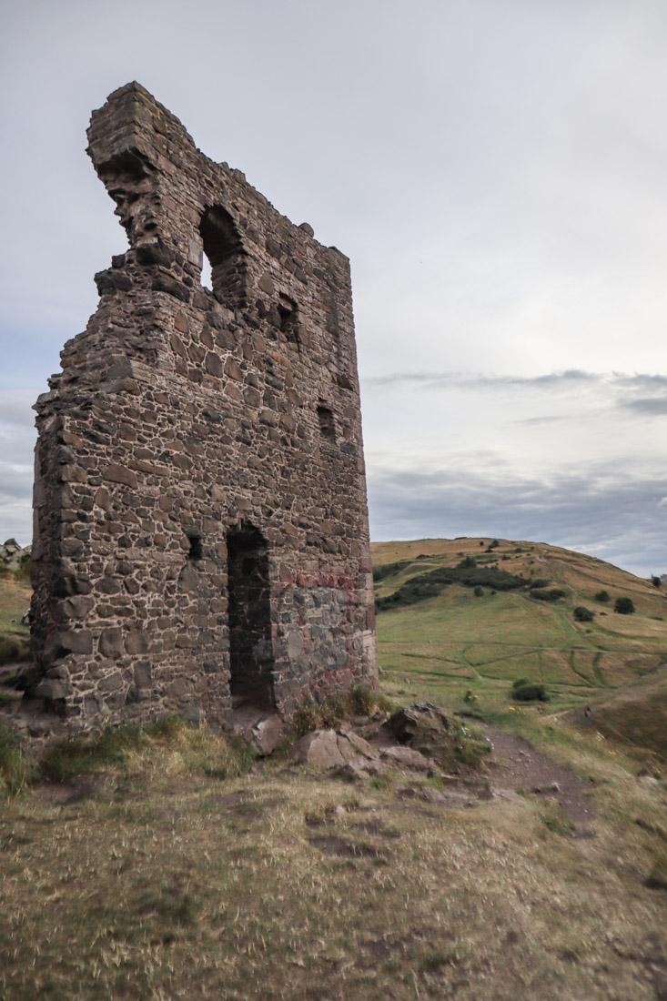 St Anthony Ruin Holyrood Arthurs Seat Edinburgh Nature
