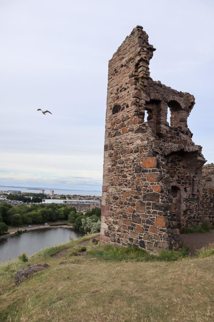 St Anthony Ruins Holyrood Park Edinburgh Nature