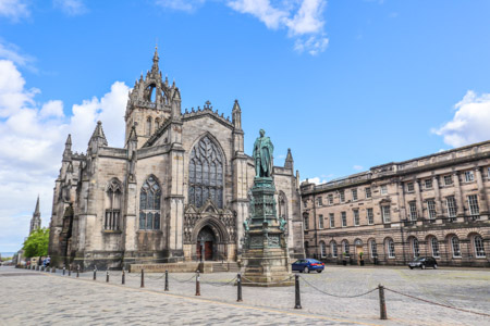 St Giles Cathedral Royal Mile Edinburgh
