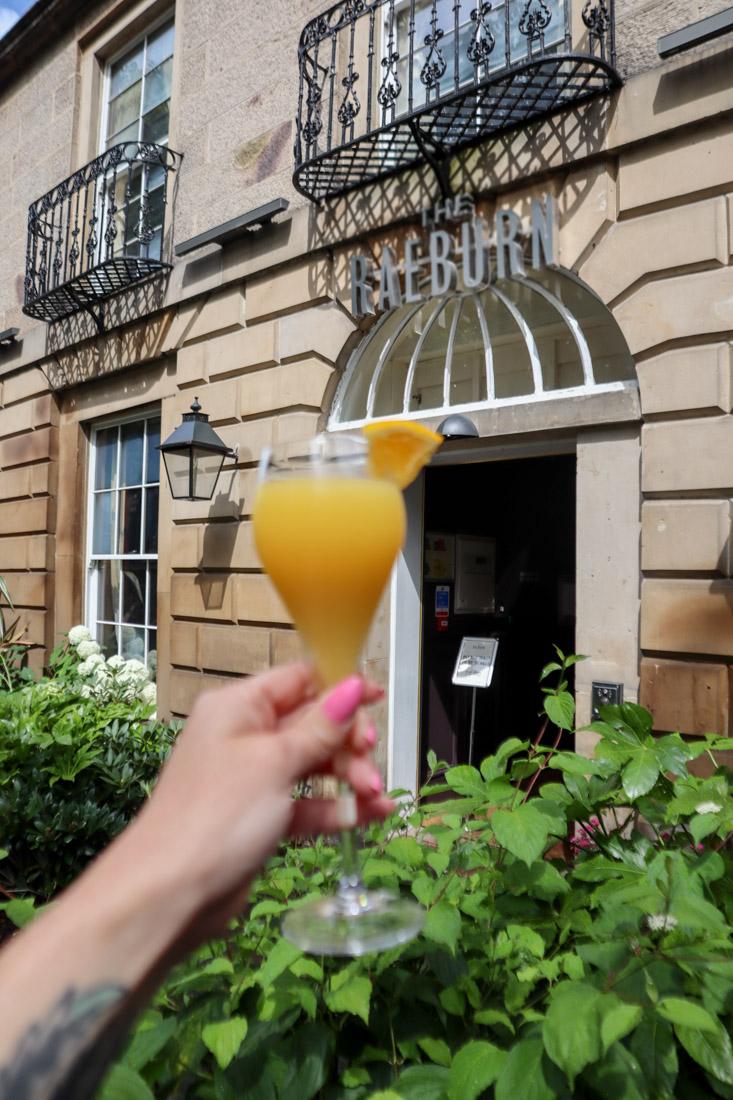 Stockbridge Cocktail The Raeburn Hotel Pub and Food Edinburgh