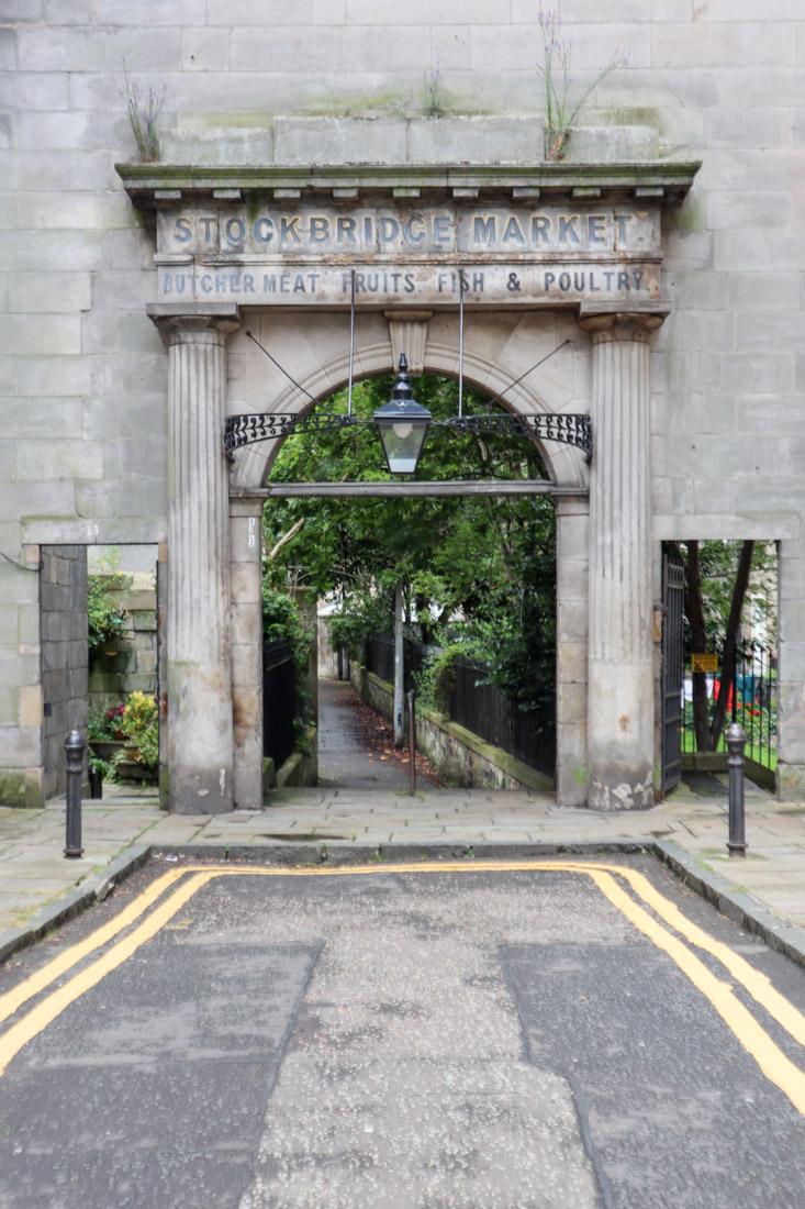 Stockbridge Market Arch House Garden Stockbridge Edinburgh