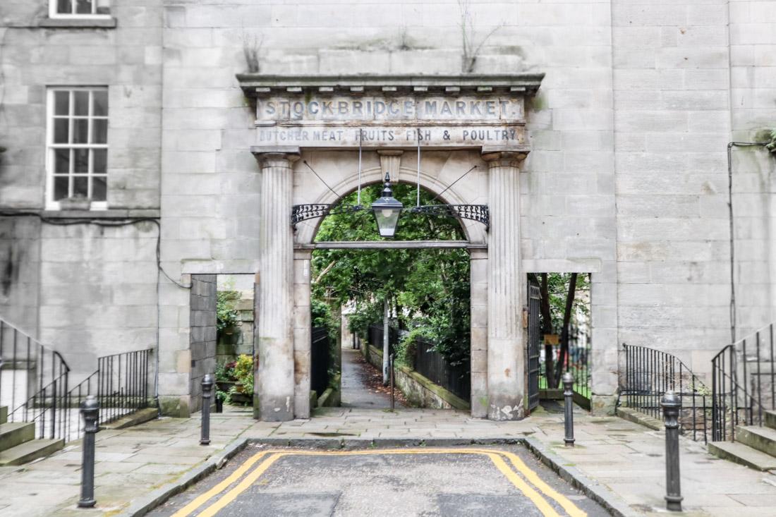 Stockbridge Market Arch Stockbridge Edinburgh