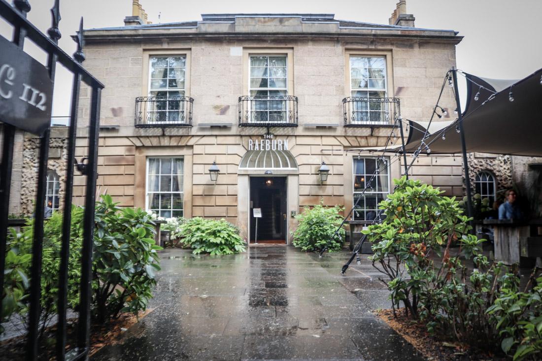 Stockbridge The Raeburn Hotel Pub Food Edinburgh