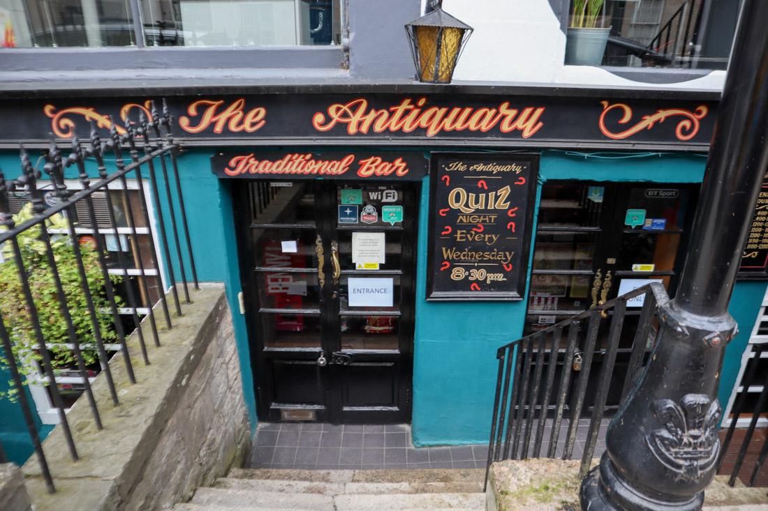 The Antiquary Pubs Stockbridge Edinburgh