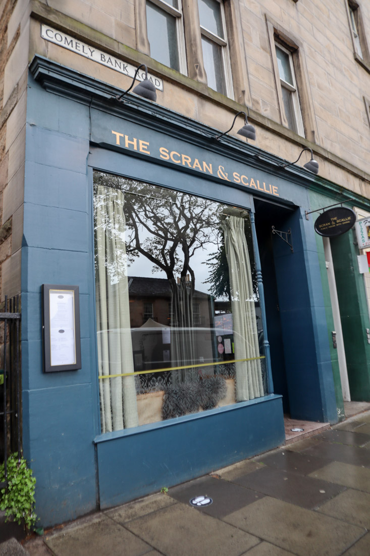 The Scran and Scallie Restaurant Stockbridge Food_