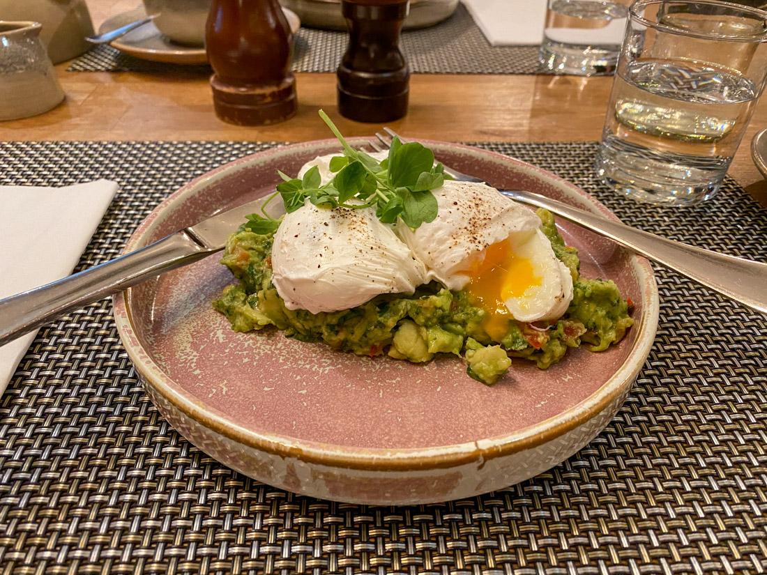 Whiskers Eggs Benedict Plate Brunch Food Stockbridge
