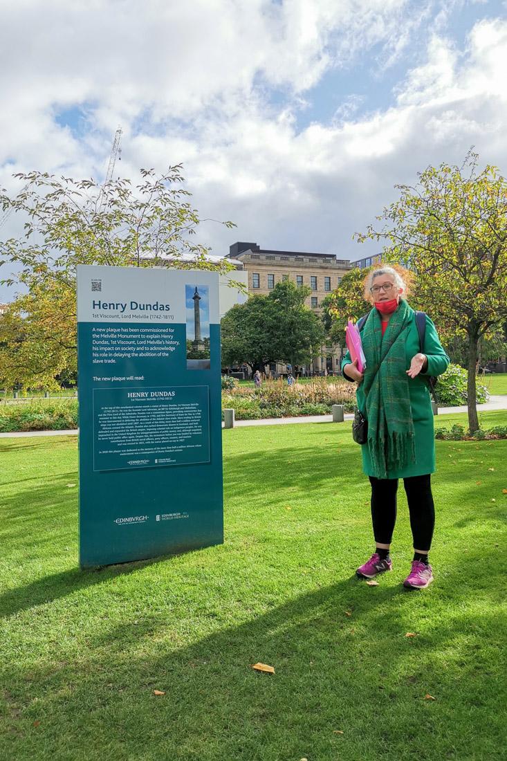 Black History Walking Tour Edinburgh St Andrew Square
