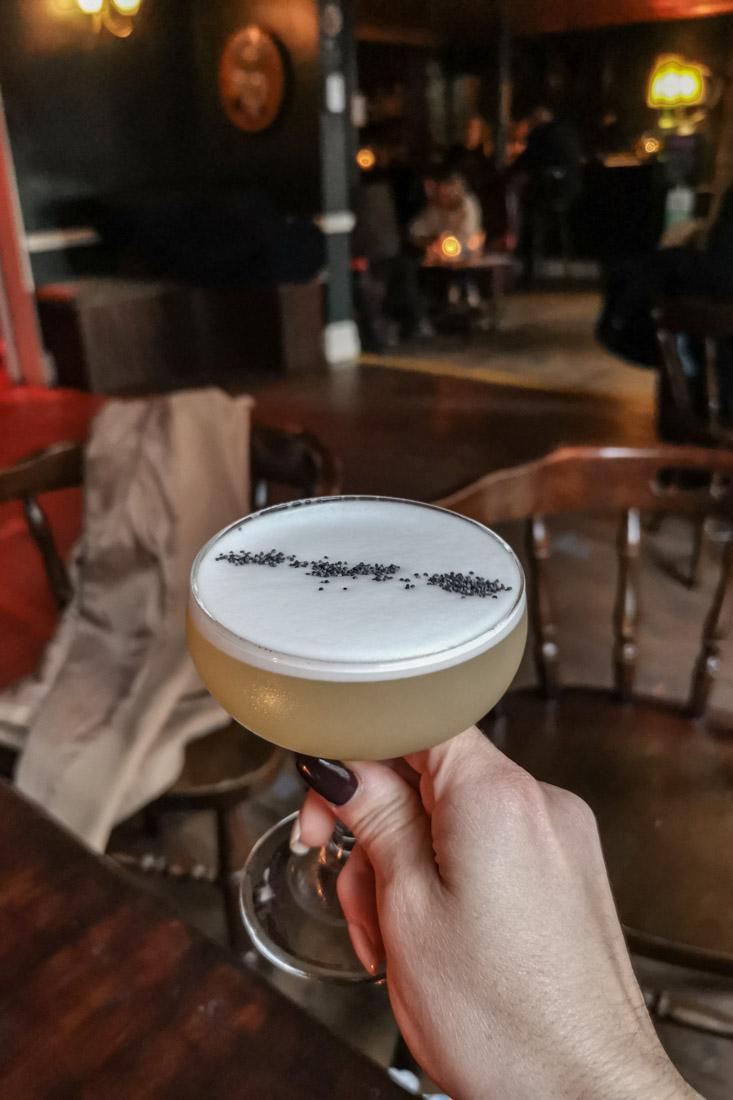 Cocktail Stockbridge The LastWord Pub
