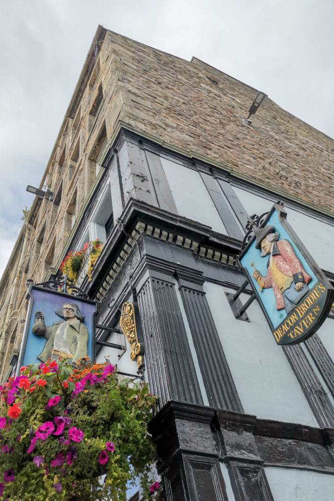 Deacon Brodie Pub Edinburgh Royal Mile Old Town