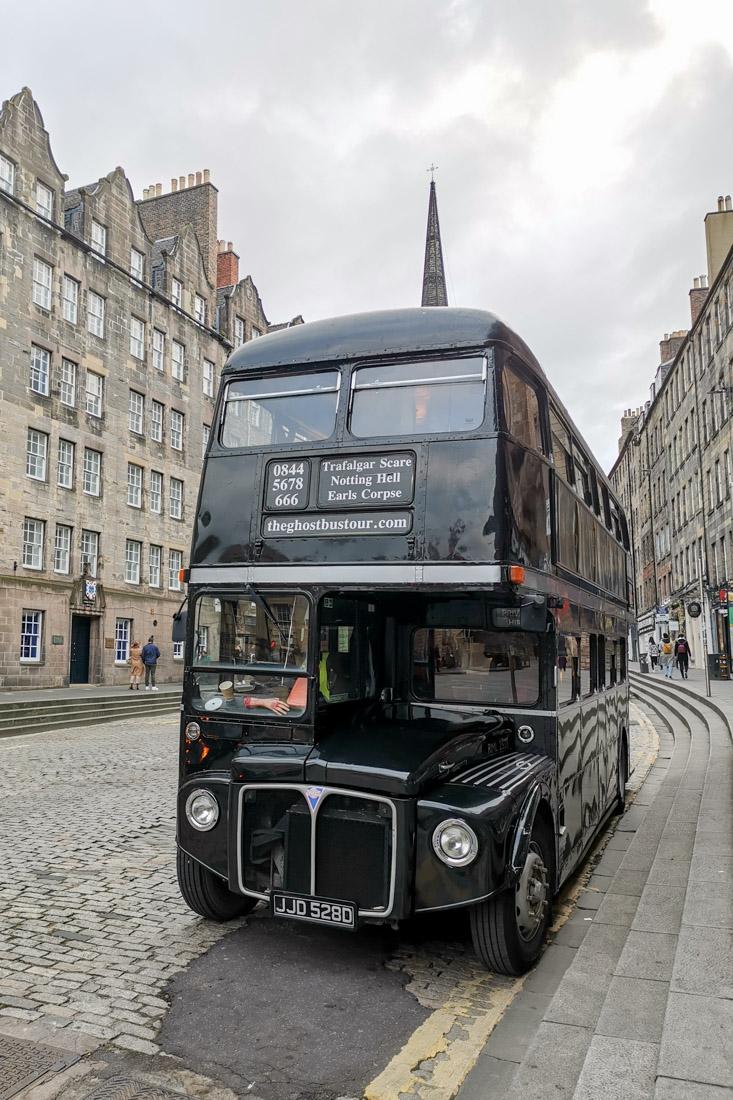 Ghost Bus Edinburgh Tour