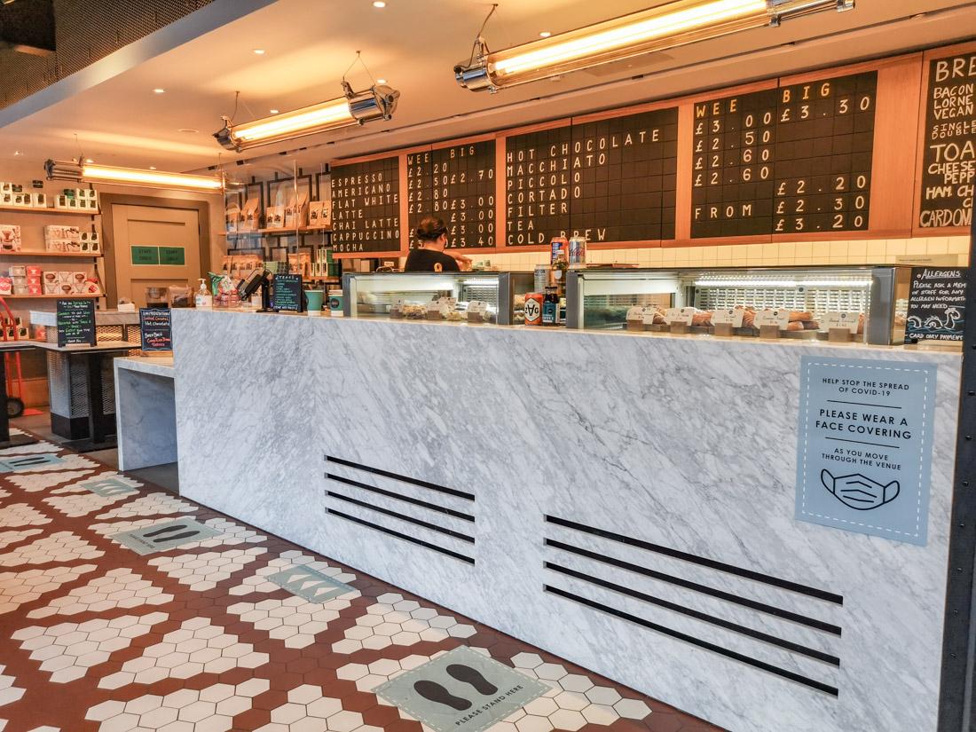 Gordon Street Coffee Cafe Food Edinburgh