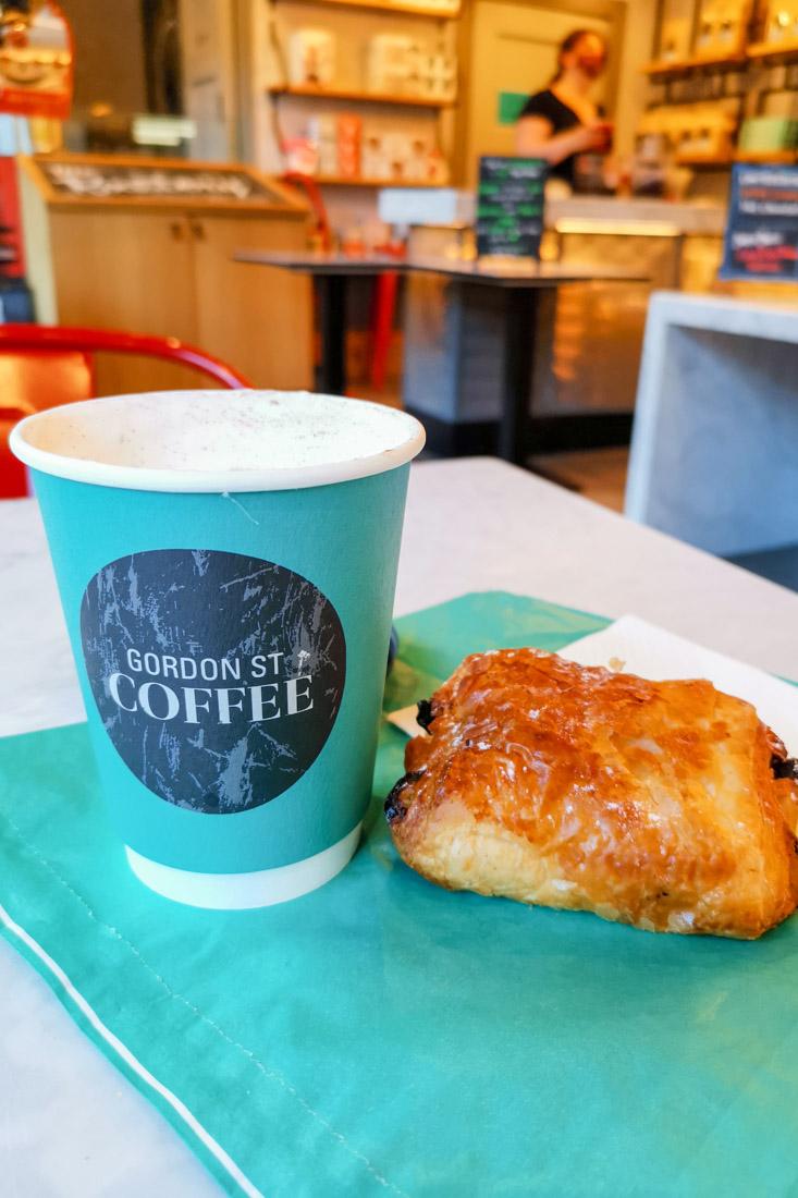Gordon Street Coffee Food Edinburgh