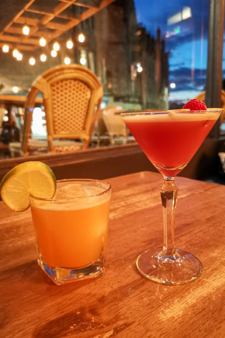 Scran Cocktails Edinburgh Food_