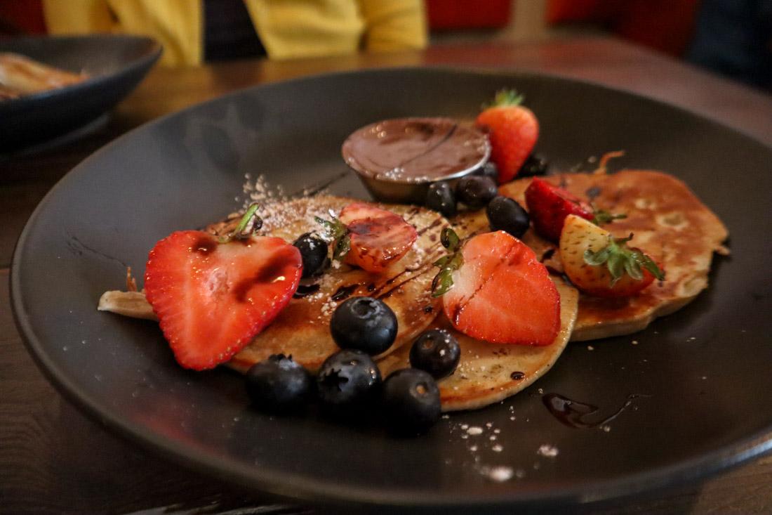 Brunch Club pancakes food West End Edinburgh