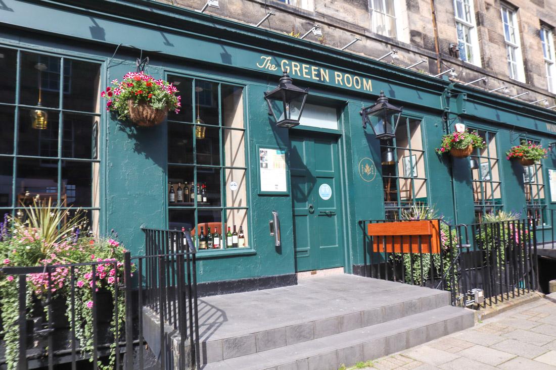 Green Room food pub West End Edinburgh