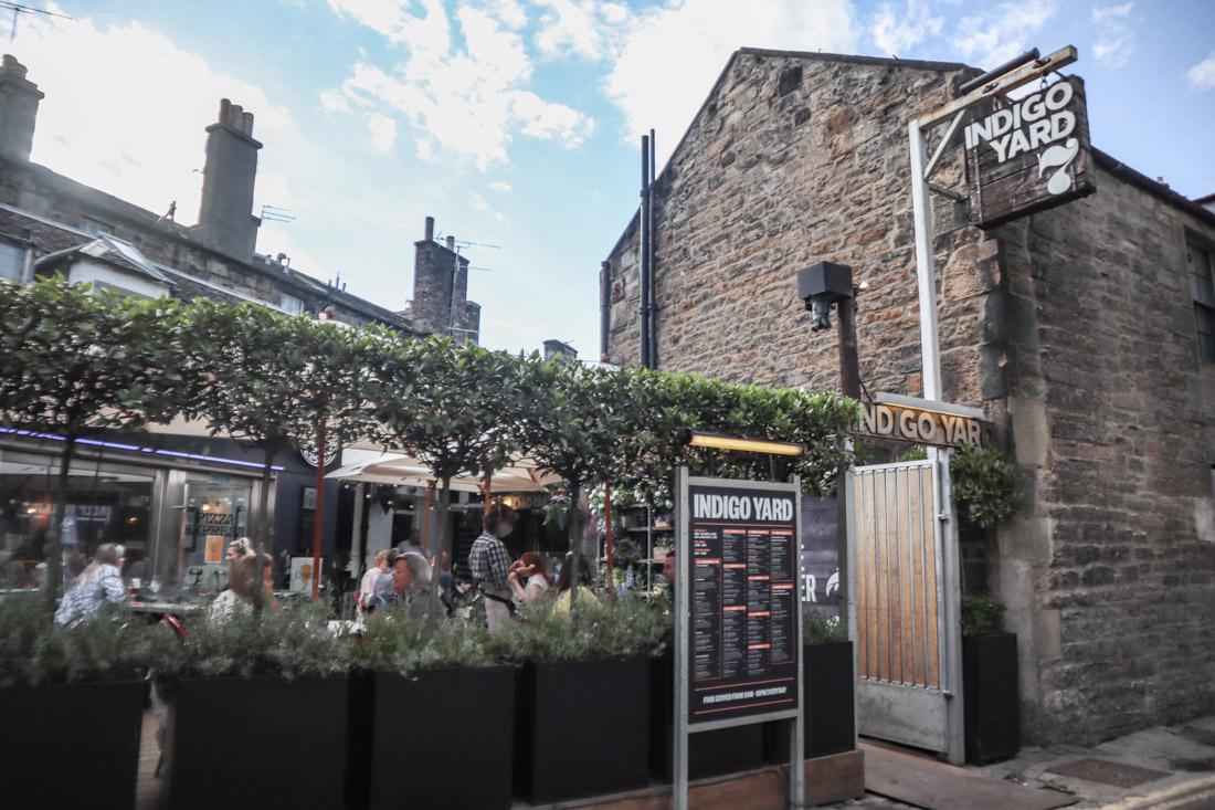 Indigo Yard Food West End Pub