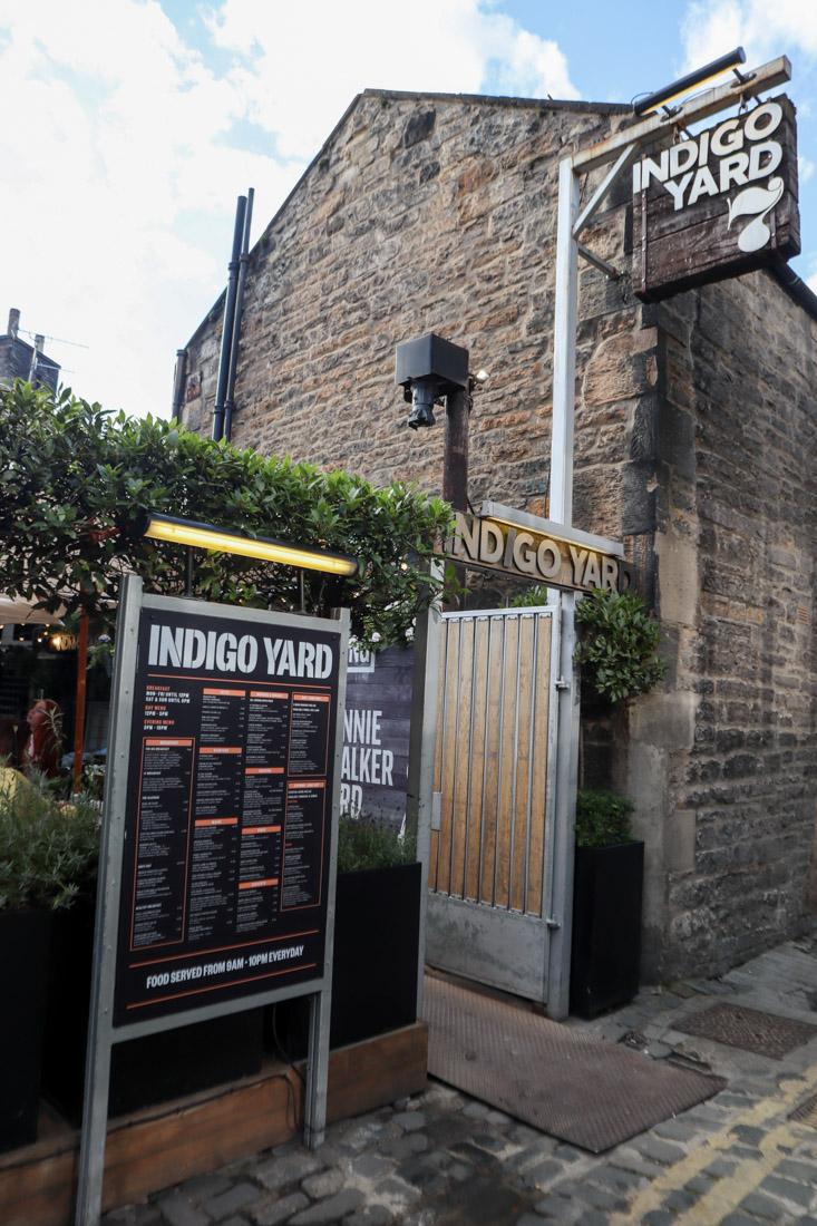 Indigo Yard Food West End
