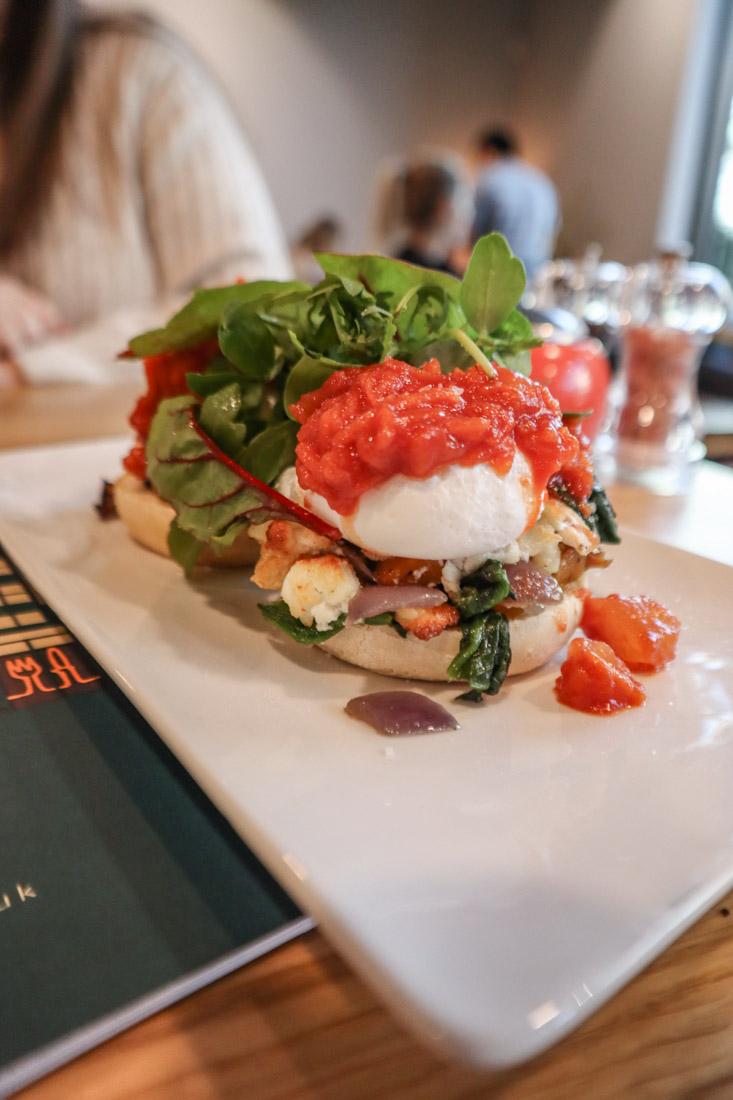 Loudons Eggs Benedict Food Brunch in Edinburgh