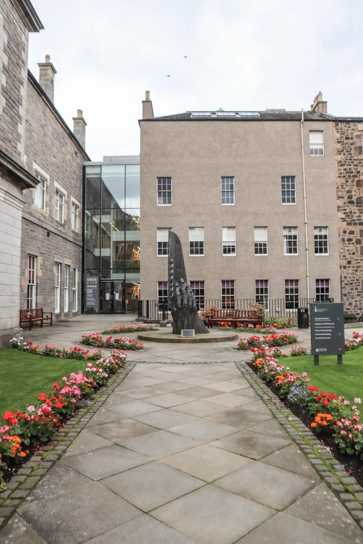 Surgeons Hall Secret Garden Edinburgh Museum Tour