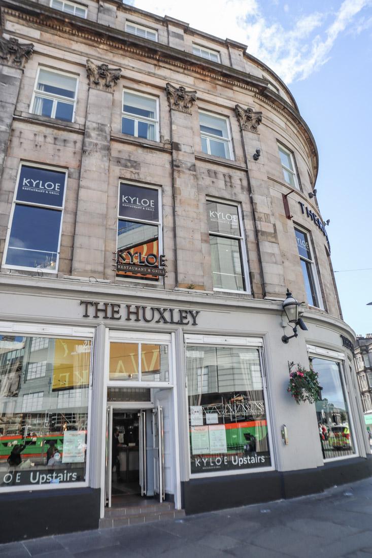 The Huxley food pub West End in Edinburgh