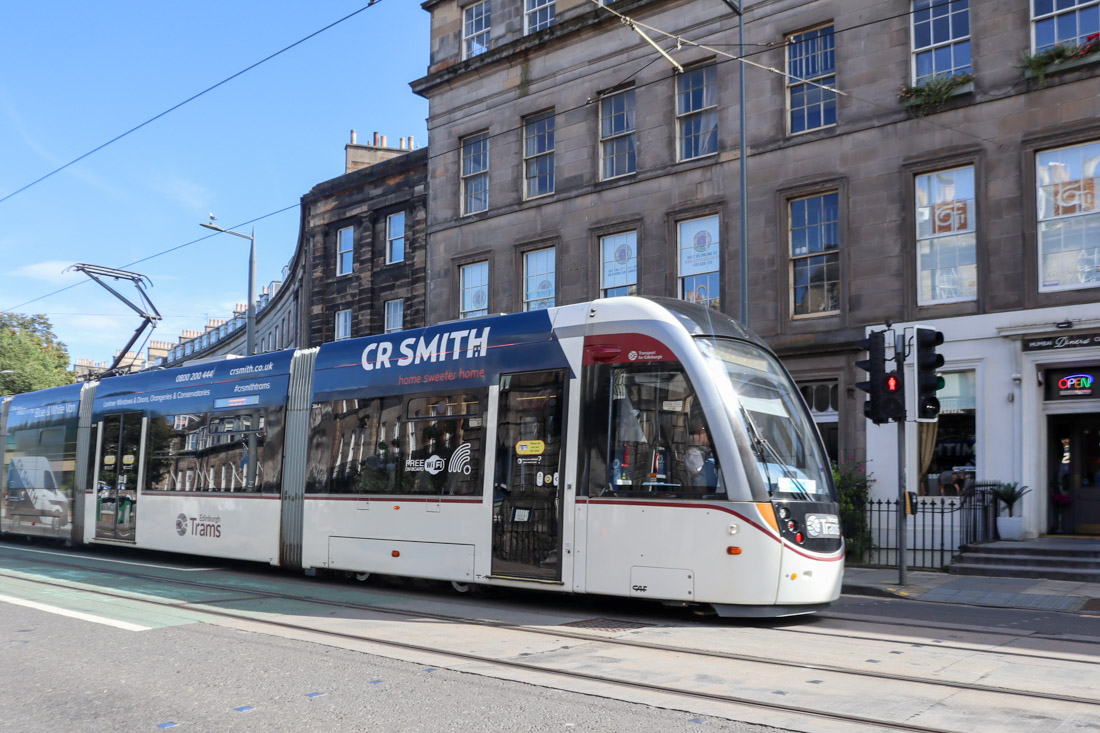 Tram transport West End