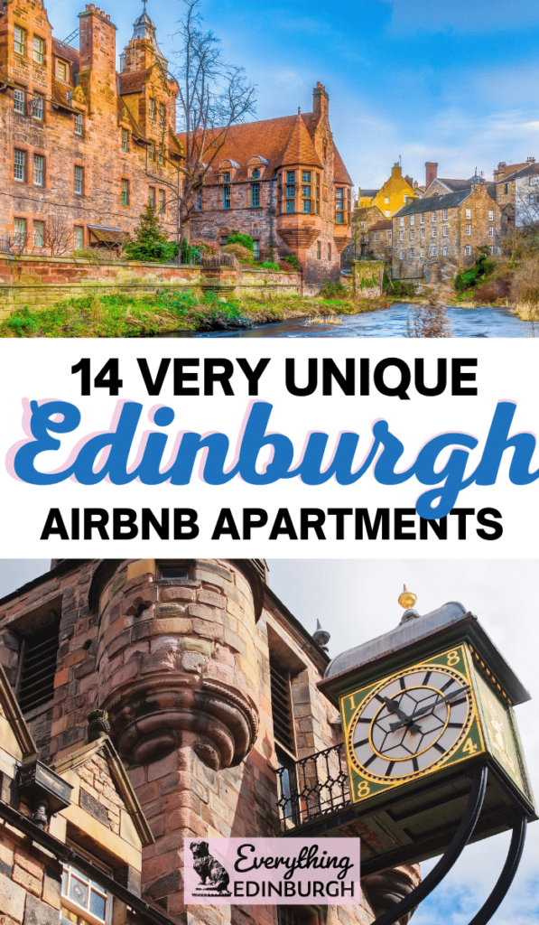Wondering where to stay in Edinburgh? This guide to unique Airbnb in Edinburgh shares cool apartments including historic homes, Harry Potter themed stays and an award-winning Airbnb