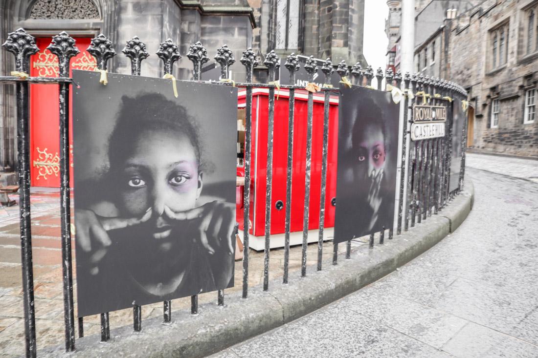 BLM Poster at Edinburgh_