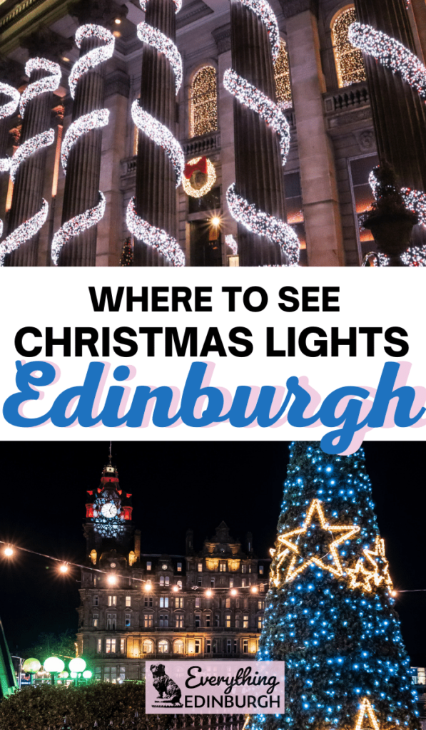 Spending winter in Edinburgh and looking for the best places to see decorations this festive period? Click to read our guide to the most wonderful Edinburgh Christmas lights and things to do around there.