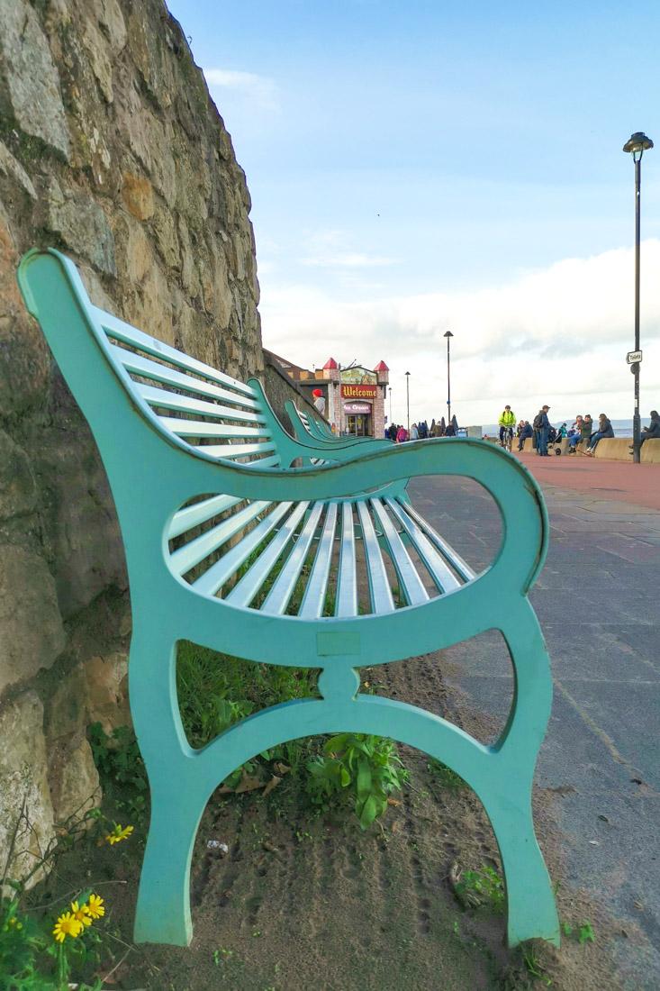 Portobello Beach bench
