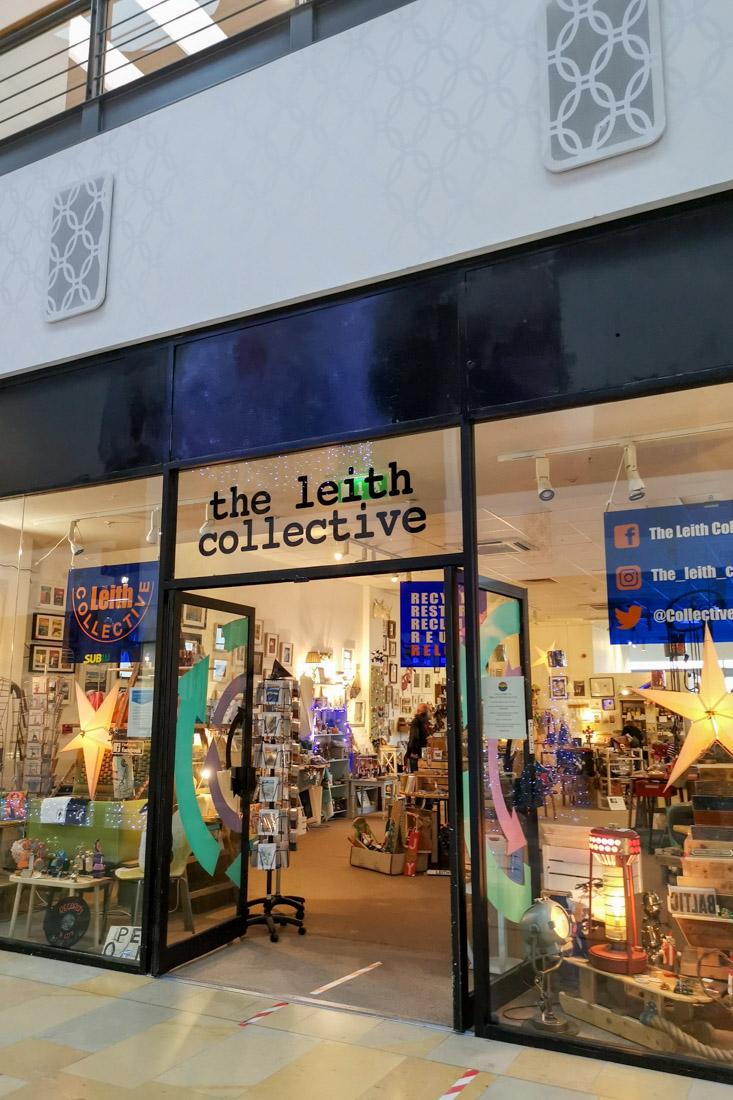 The Leith Collective Ocean Terminal Christmas Lights