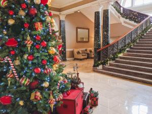 Waldorf Astoria Christmas Decorations Edinburgh
