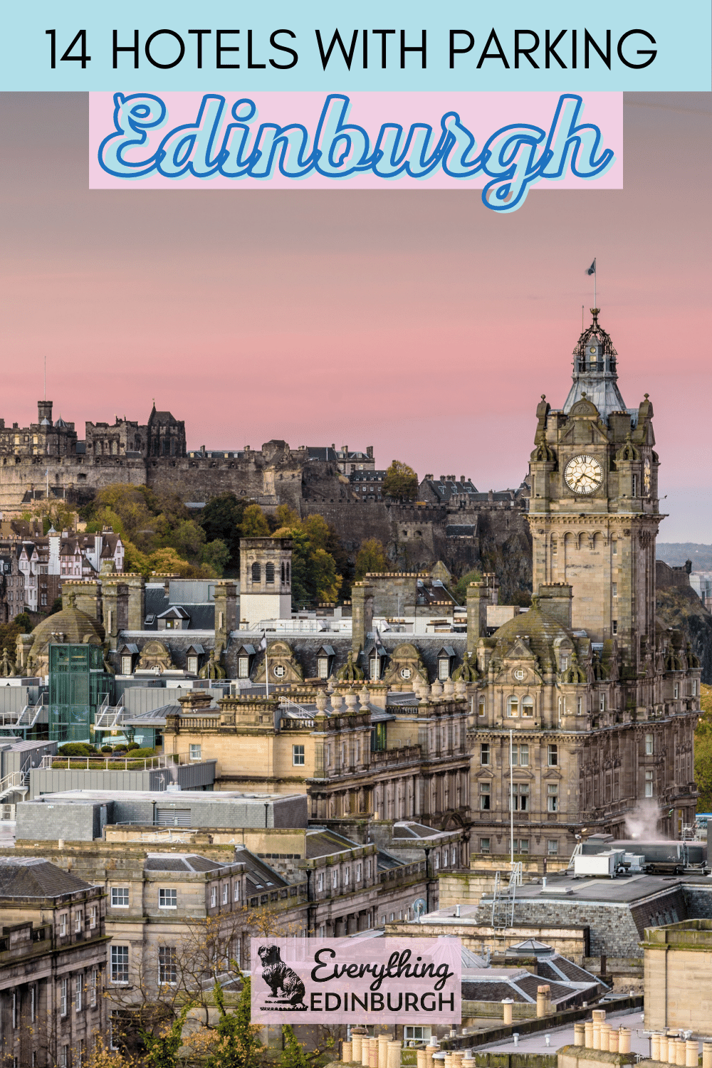 Looking for Edinburgh hotels with parking? This guide details Old Town, City Centre & affordable outside of town hotels with car parks.