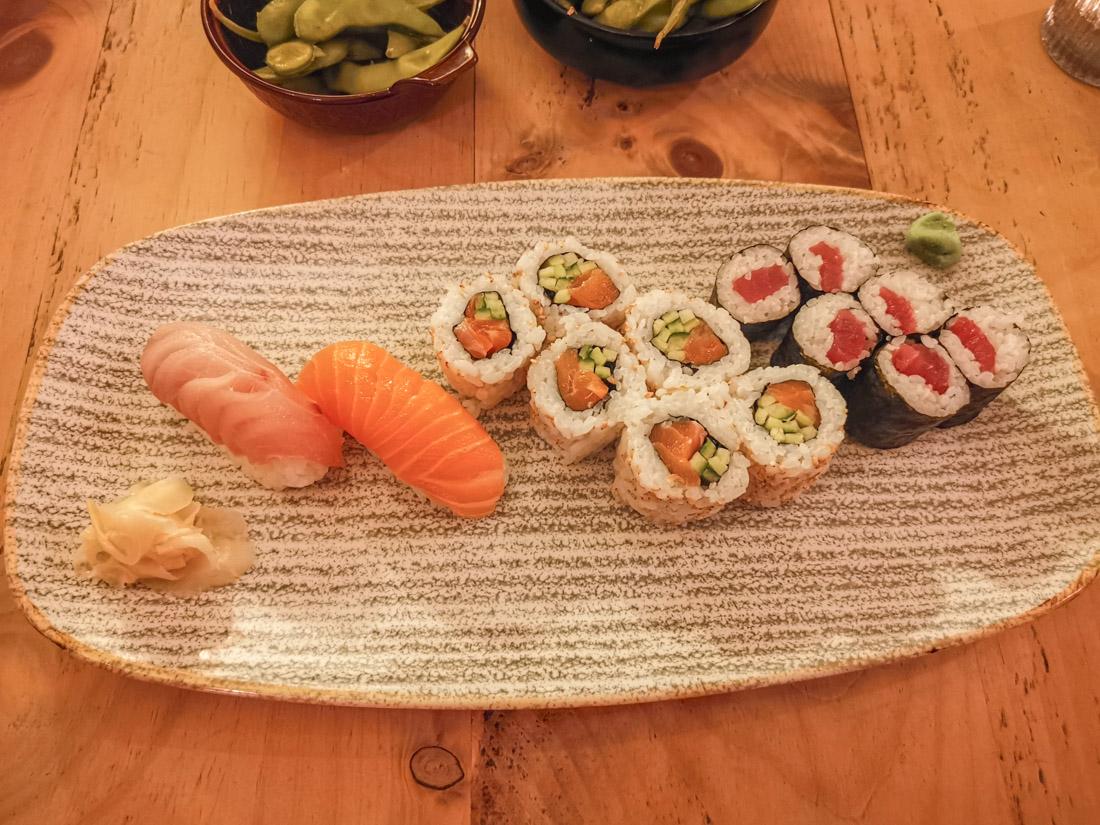 Harajuku Edinburgh Sushi Plate