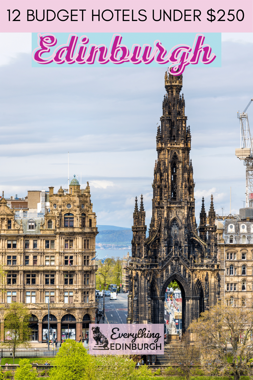 Looking for budget hotels in Edinburgh? This guide details central hotels close to attractions that are affordable and offer a good night's sleep! Click to find out the top cheap hotels in Edinburgh.