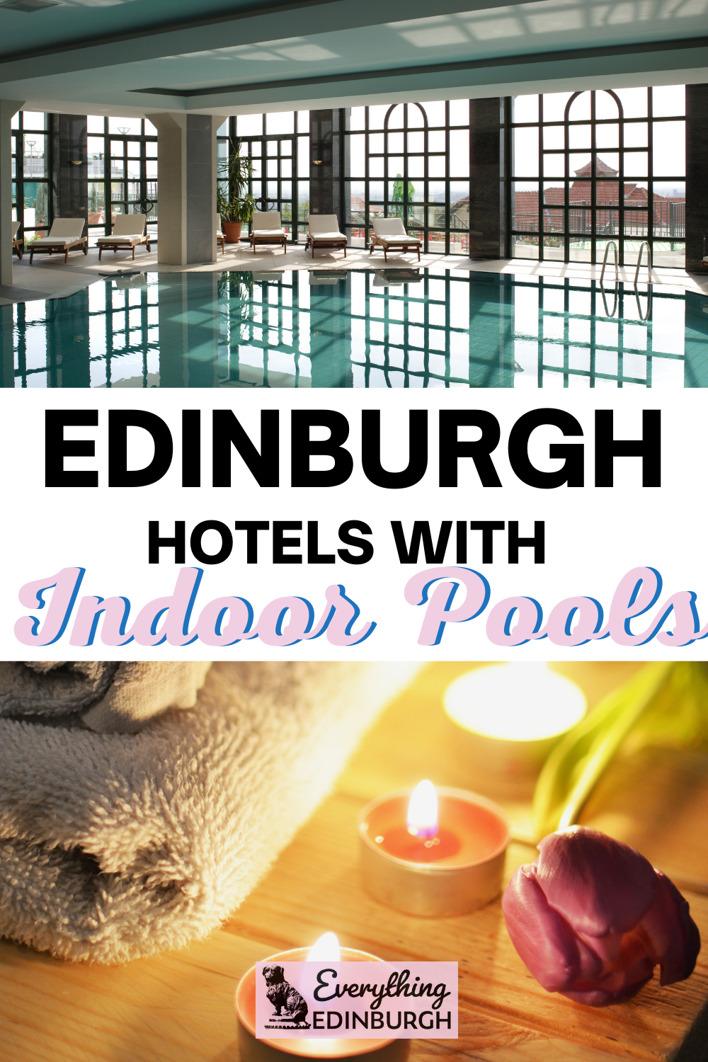 Looking for an Edinburgh hotel with a pool? This guide details the best hotels in Edinburgh with heated indoor pools and spa facilities so all you need to do is remember your swimsuit!