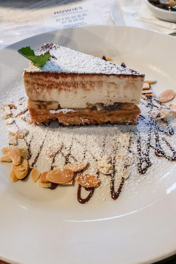 Howies Restaurant Banoffee Pie Edinburgh